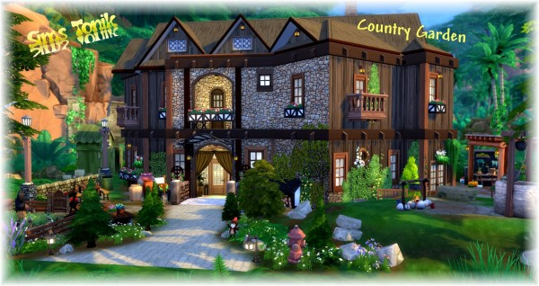 Luniversims: Country Garden Home by  Coco Simy