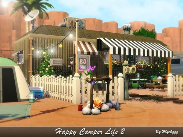 The Sims Resource: Happy Camper Life 2 by MychQQQ