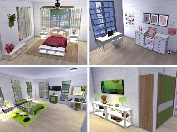 The Sims Resource: Beechway Vacation Home by neinahpets