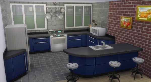 Mod The Sims: The Modern Oak Alcove House by Wild Lucy