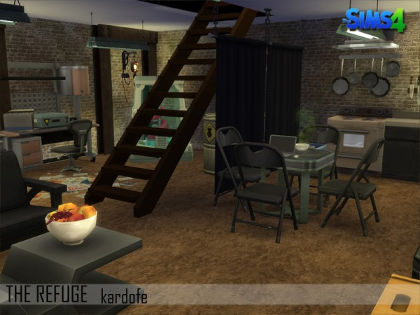 The Sims Resource: The Refuge by kardofe