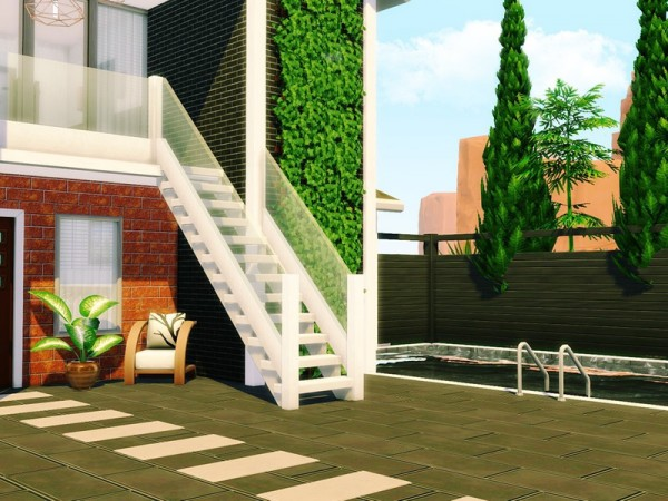 The Sims Resource: Contemporary Abode 2 House by MychQQQ