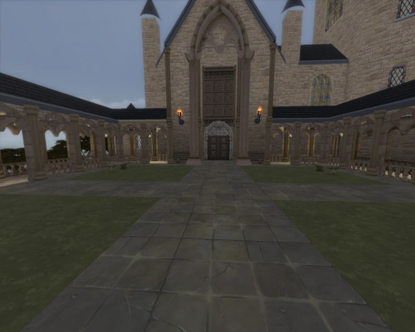 Mod The Sims: Hogwarts Museum by huso1995