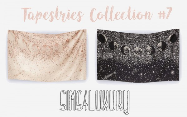 Sims4Luxury: Tapestries Collection 7