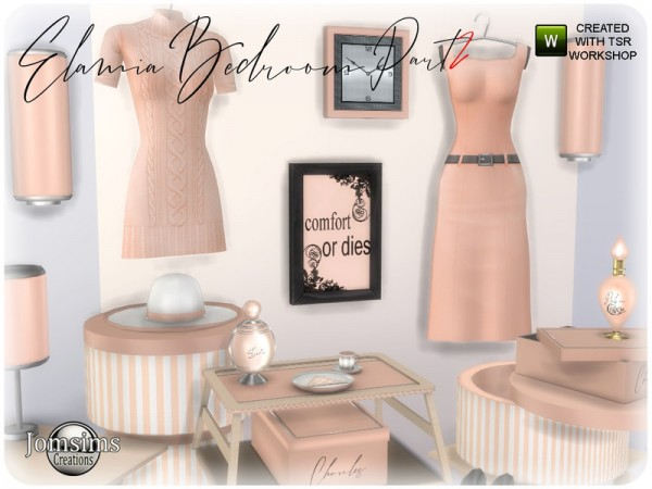 The Sims Resource: Elamia bedroom part 2 by jomsims