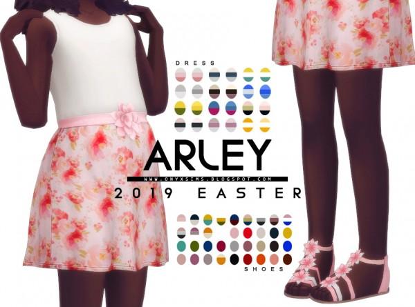 Onyx Sims: Easter 2019   Arley Set