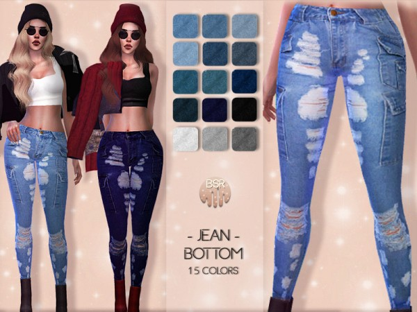 The Sims Resource: Jean Bottom BD24 by busra tr