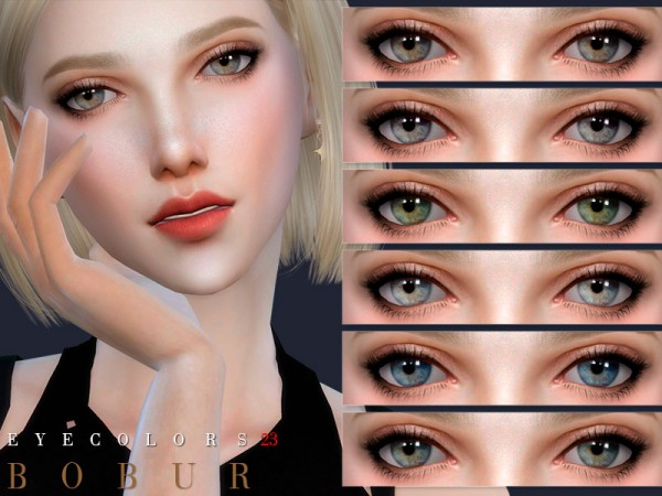 The Sims Resource: Eyecolors 23 by Bobur3