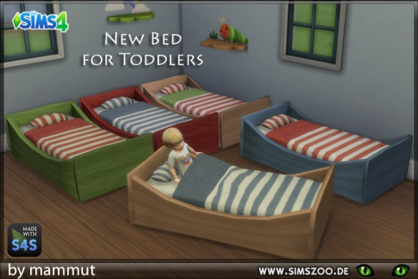 Blackys Sims 4 Zoo: Toddlers Bunk 1 by mammut