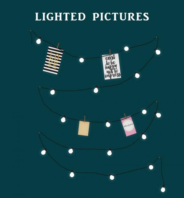 Leo 4 Sims: Lighted Pics
