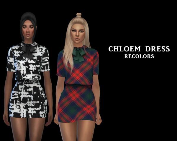 Leo 4 Sims: ChloeM Dress