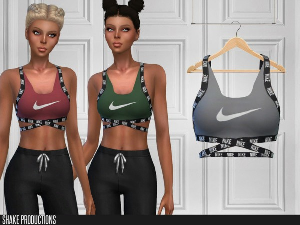 The Sims Resource: 247   Sports Bra by ShakeProductions