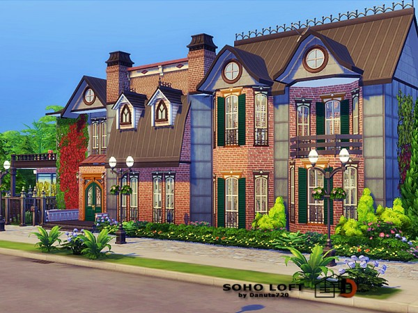 The Sims Resource: Soho Loft by Danuta720