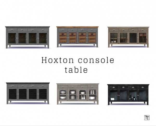 Blooming Rosy: Hoxton console table