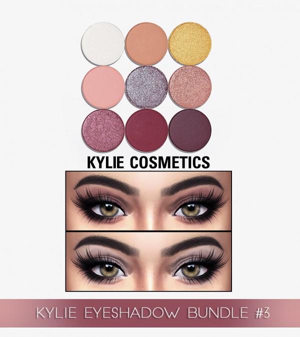 Kenzar Sims: Eyeshadow Bundle 3