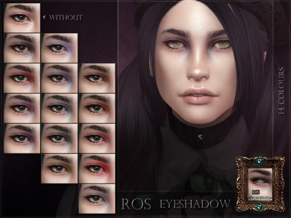 The Sims Resource: ROS Eyeshadow by RemusSirion