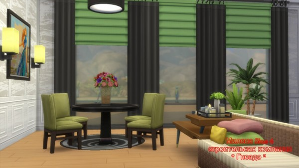 Sims 3 by Mulena: Room   Living room and kitchen