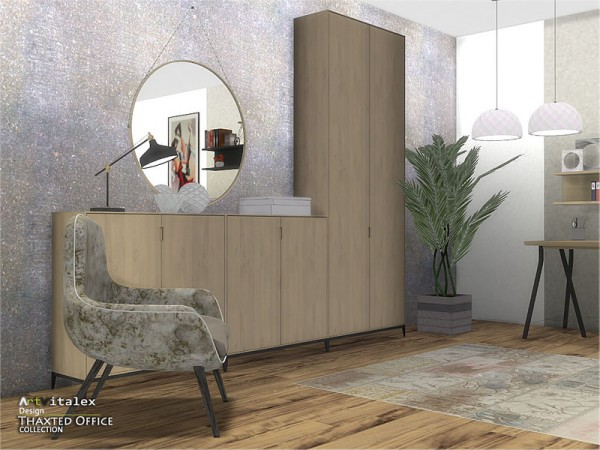 The Sims Resource: Thaxted Office by ArtVitalex
