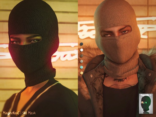 The Sims Resource: Ski Mask by magnolia c