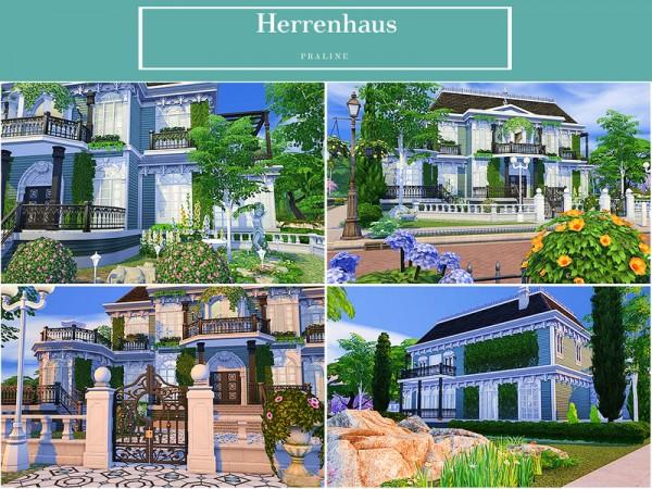 The Sims Resource: Herren house by Pralinesims