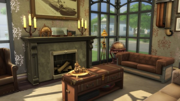 Sims Artists: Steampunk stay