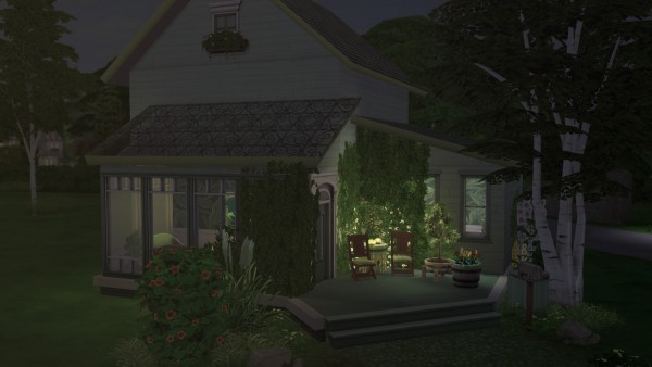 Gravy Sims: Solid Color Community Collab: The Green Café