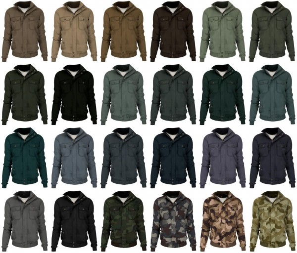 Lazyeyelids: Casual cotton jacket