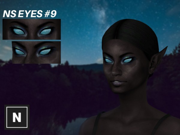 The Sims Resource: Eyes 9 Under by networksims
