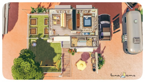 Luna Sims Strangervilla Trailer Home Sims 4 Downloads