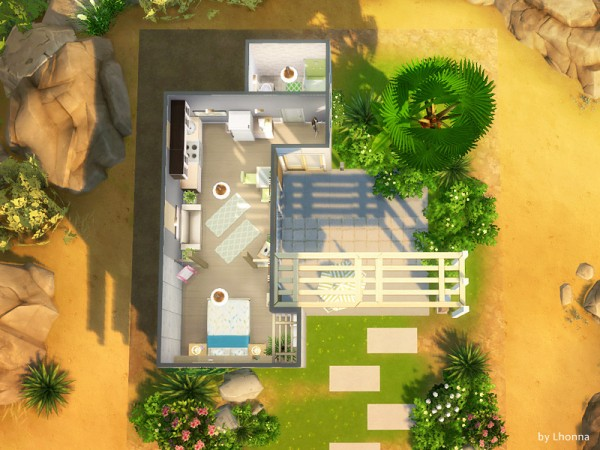 The Sims Resource: Concrete Start F by Lhonna