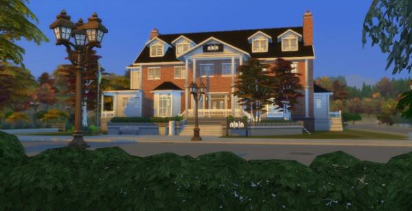Mod The Sims: Nuhm Fri Nuhm Fraternity   UNIVERSITY   NO CC by wouterfan