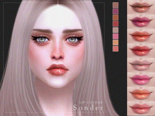 The Sims Resource: Sonder  Lip Colour by Screaming Mustard