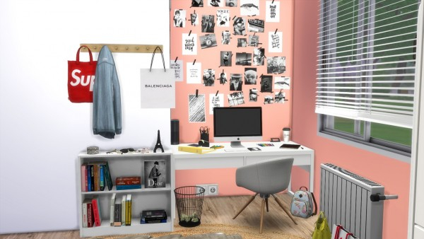 Models Sims 4: Teenage Girl Bedroom