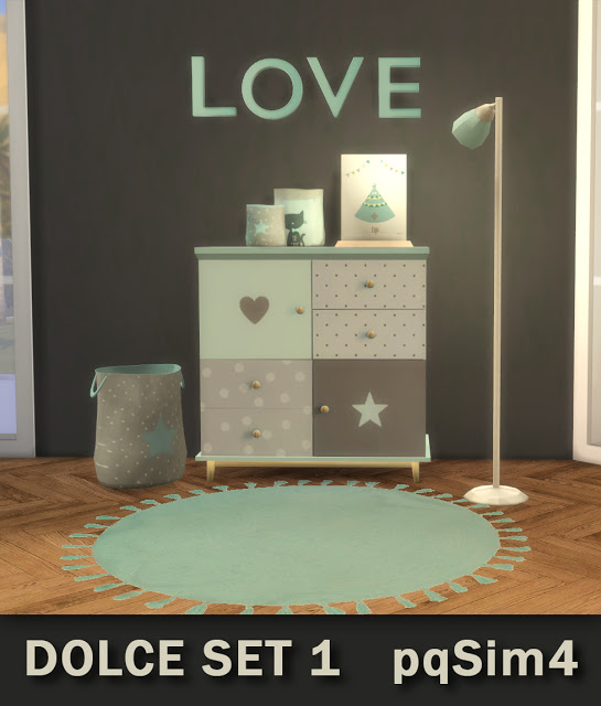 PQSims4: Dolce Set 1