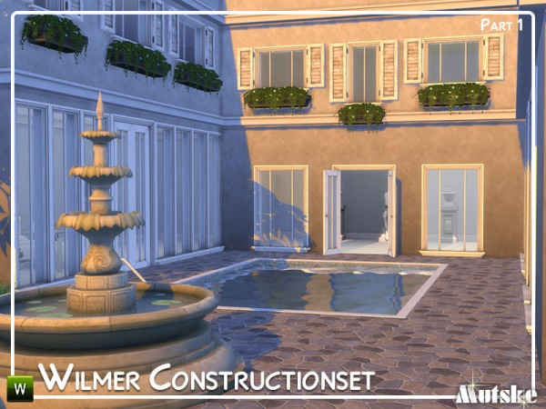 The Sims Resource: Wilmer Constructionset Part 1 by mutske