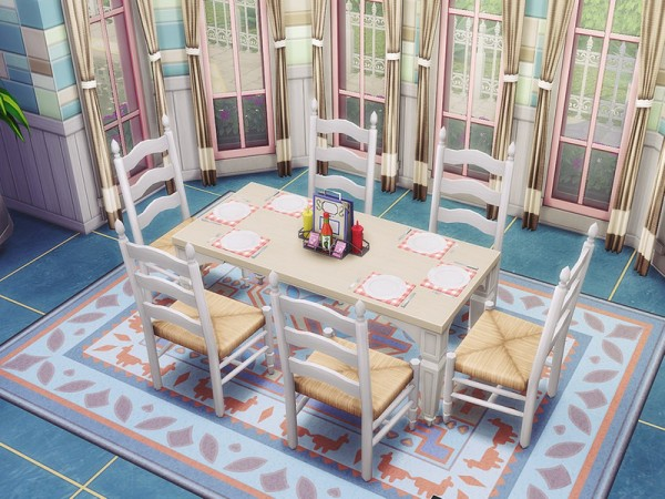 The Sims Resource: Pastel Beauty House by MychQQQ