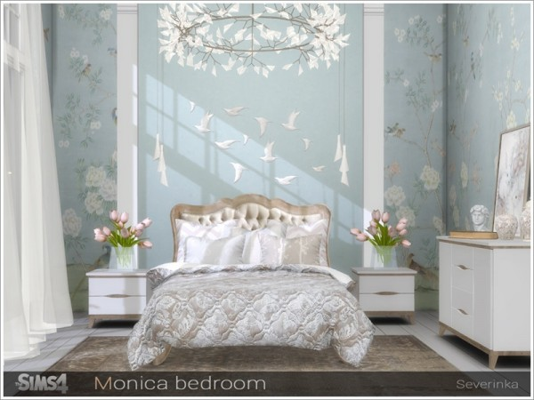 The Sims Resource: Monica bedroom by Severinka