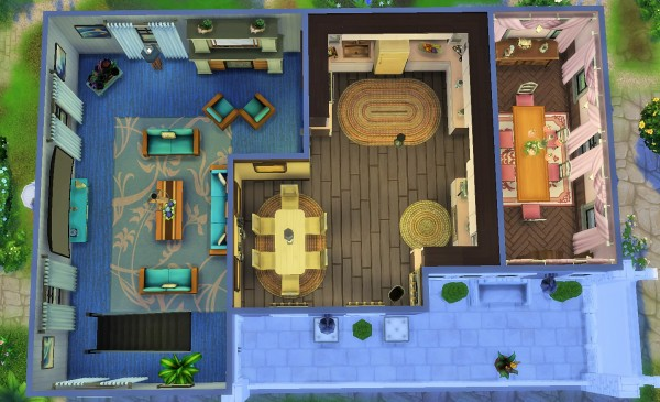 Mod The Sims: Home by the river by heikeg