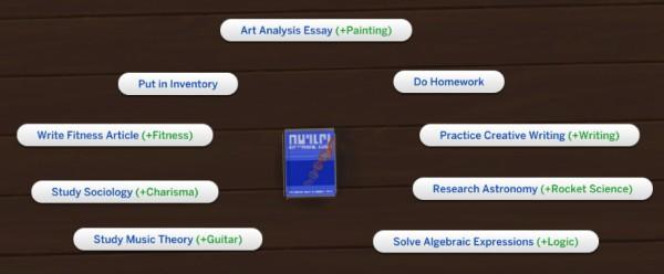 Buy homework sims 4