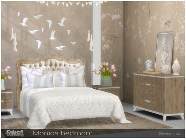 The Sims Resource Monica Bedroom By Severinka Sims 4