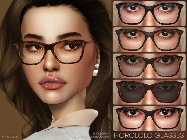 The Sims Resource: Horololo Glasses by Pralinesims