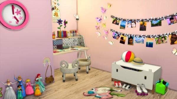Models Sims 4: Lovley Girl Bedroom