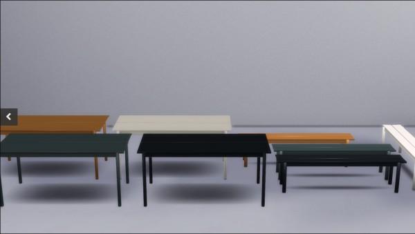 Meinkatz Creations: Linear steel table by muuto