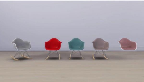 Meinkatz Creations: Eames Plastic Chair Rar