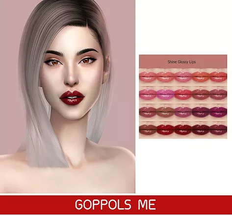 GOPPOLS Me: Shine Glossy Lips