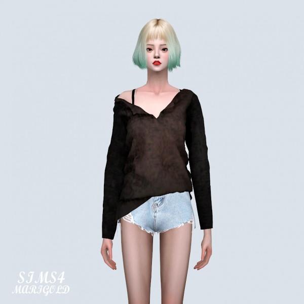 SIMS4 Marigold: Natural Long T