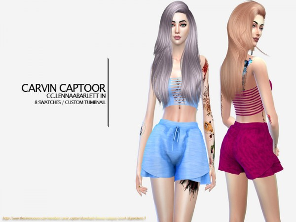 The Sims Resource: Lennaabarlett outfit by carvin captoor