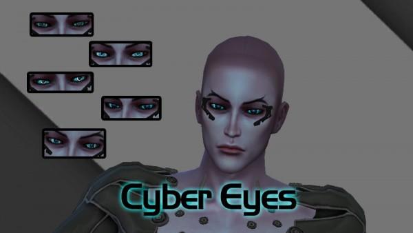 Luniversims: Cyber Eyes by Alina Podgornaya
