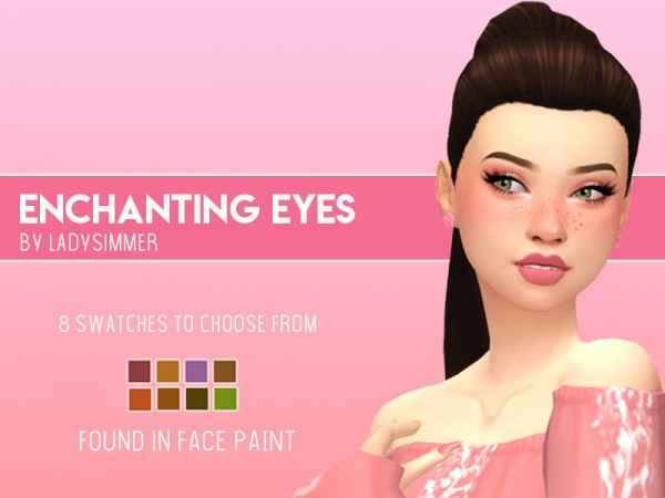The Sims Resource: Enchanting Eyes by LadySimmer94