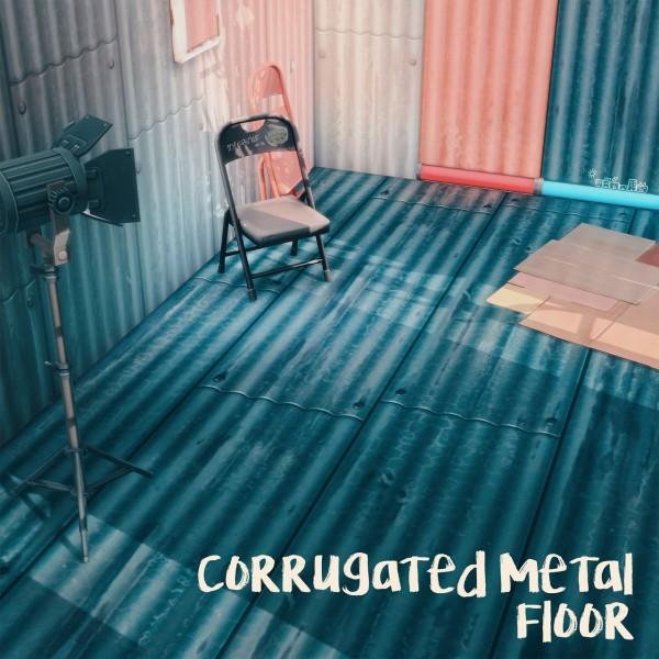 Picture Amoebae: Corrugated Metal Floors